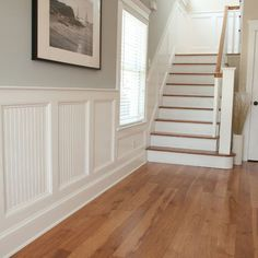 Wainscoting on pinterest wainscoting board and batten for Examples of wainscoting
