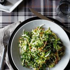 Kale, Cabbage & Carrot Salad with Creamy Caper Dressing