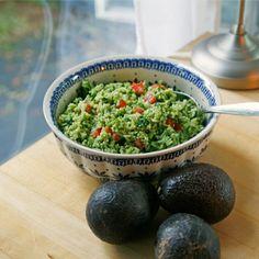 Avocado-Basil Rice with Tomatoes - Sarah's Cucina Bella