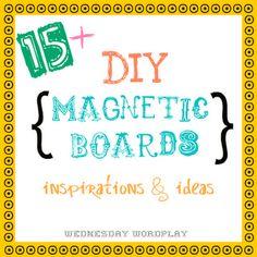 Magnetic board ideas