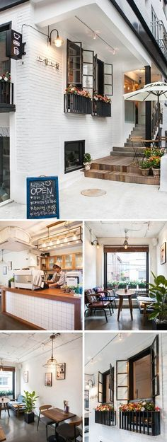 If you would like to earn a coffee shop that has the cozy room with the pure idea, the rustic tables will be suitable. Before you ever consider opening a coffee shop or some other business, you have to design… Continue Reading → Cozy Coffee Shop, Small Coffee Shop, Coffee Shop Design, Small Restaurant Design, Café Bar, Cafe Shop, Cozy Room, Cafe Interior, Shop Interiors