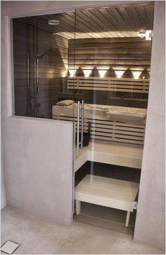 Lovely And Cozy Home Sauna Design Ideas. Here are the And Cozy Home Sauna Design Ideas. This article about And Cozy Home Sauna Design Ideas was posted under the category by our team at April 2019 at pm. Hope you enjoy it and don& forget . Diy Sauna, Bathroom Layout, Modern Bathroom, Master Bathroom, Minimal Bathroom, Small Bathroom, Bathroom Ideas, Sauna Hammam, Sauna Shower