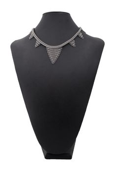Art Deco chainmaille necklace from Couture Armour.