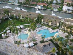 Where we spent out honeymoon! Ft. Lauderdale, Florida- Hyatt Pier 66