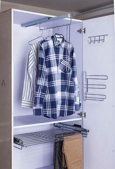 Sliding Hanger #wardrobes #bedroom #stainlesssteel #storagesolutions