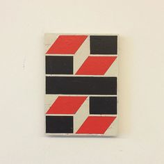 Abstract geometric paintings by Belgian artist Alain Biltereyst. Alain Biltereyst is a Belgian artist who lives and works near Brussels. Geometric Painting, Abstract, X 23, Plywood, Vintage Designs, Creative, Artist, Instagram Posts, Ios App