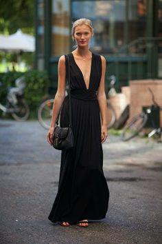 I want pretty: LOOK- Outfits cool en #negro para usar en verano/ #Cool #black…
