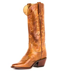 Lucchese Women's Tan Mad Dog Cowgirl Boot