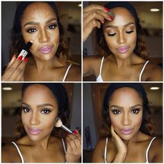 Makeup by Shayla her YouTube videos and IG are awesome.