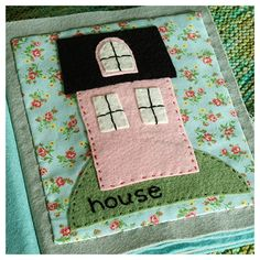 """Appliqued """"Baby's First Book"""" by Alicia Paulson"""