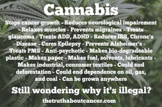 We scratch our heads collectively. This is why we call Cannabis / Hemp a Miracle Plant Join us for much more great information on The Truth About Cancer! #breastcancerinformation