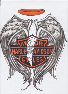 40 Cool biker & Harley Davidson tattoos + the meaning of biker tattoos. Designs inlude: skulls, eagles, engines, the Harley logo, spark plugs and more. Harley Davidson Decals, Harley Davidson Tattoos, Harley Davidson Wallpaper, Harley Tattoos, Biker Tattoos, Motorcycle Tattoos, Motorcycle Quotes, Body Art Tattoos, I Tattoo