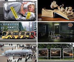 Guerilla Marketing: 22 Ads from Bizarre to Brilliant