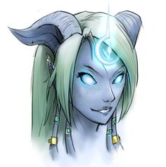 Draenei Priest - World of Warcraft. I sort of miss mine