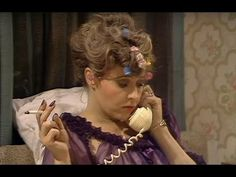 """From the episode """"The Wedding Party"""" - When Sybil's troubled friend calls, Basil can't stand the mundane conversation. If you have any favourite clips from t. British Tv Comedies, British Comedy, Fawlty Towers, Tv Watch, Comedy Tv, Story Characters, Funny People, Comedians, Sarcasm"""
