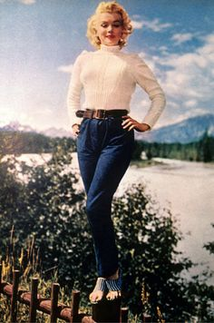 History's Most Stylish Jean Queens - MarieClaire.com