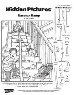 Random Worksheets yoga for men - Yoga Puzzles For Kids, Craft Activities For Kids, Kindergarten Activities, Preschool, Hidden Pictures Printables, Highlights Hidden Pictures, Hidden Picture Puzzles, Hidden Objects, English Activities
