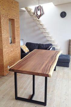【楽天市場】【アイアン テーブル脚/1008両用脚/1セット】ダイニングと座卓の2通りの使い方ができるテーブル脚アイアン40角のパイプで作られた一枚板の重量にも耐えられる堅牢なアイアンテーブル脚:da BOSCO FURNITURE Drafting Desk, Wood Art, Dining Table, Showroom, Interior Design, Chair, House, Furniture, Home Decor