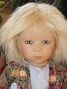 "ANNETTE HIMSTEDT ""MAX"" 32"" VINYL DOLL 2002 LMT.ED. #288/713 MADE IN GERMANY"