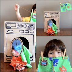 http://www.garotacriatividade.com/brinquedos-de-papelao/  #creative #criativo #criatividade #creativity #cardboard #recycle #reciclagem