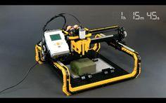 LEGO CNC router