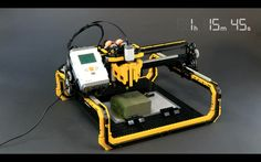 CNC Lego Milling Machine