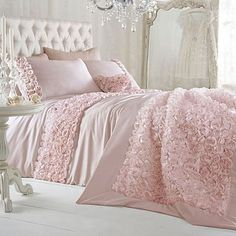girl bedroom     Pink 'Antoinette' bed linen - Duvet covers & pillow cases - Bedding - Home & furniture -