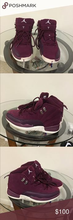 burgundy and white 12s Shop Clothing