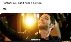 pictures you can hear memes & pictures you can hear memes Hunger Games, Series Movies, Tv Series, Image Hilarante, Tom Ellis Lucifer, Reality Shows, Harry Potter, Tv Show Quotes, Morning Star