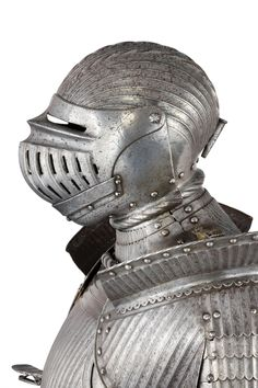 A FLUETD FULL ARMOUR IN THE SOUTH GERMAN 'MAXIMILIAN' STYLE OF CIRCA 1520-30, second half of the 19th century for sale on MasterArt.com