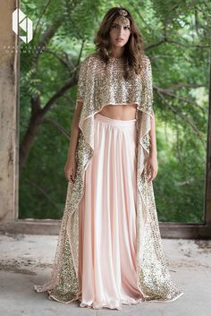 The Winter Festive Look Book 2017 for Indian designer Prathyusha Garimella.The label is being currently retailed at Perniaspopupshop, Aza, Ogaan, Aashni & co and many other multi-brand stores. Model: Paula Perez (TFM India)Special Thanks to Lakshmik… Bridal Outfits, Indian Wedding Outfits, Indian Outfits, Indian Clothes, Wedding Dresses, Indian Gowns Dresses, Pakistani Dresses, Pakistani Suits, Indian Bridal Wear