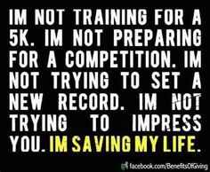 but I do love doing a half marathon.