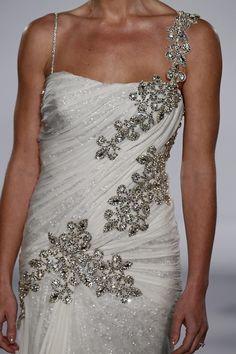Pnina Tornai dress    diamond detail   #weddings #engagement