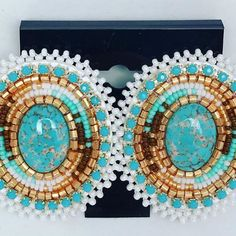 Sold. Just Sharing! Kahnawake Powwow 2017 in the books! #beadedearrings #niciasaccessories #nativeblingearrings #nativeamerican #nativeamericanbeadwork