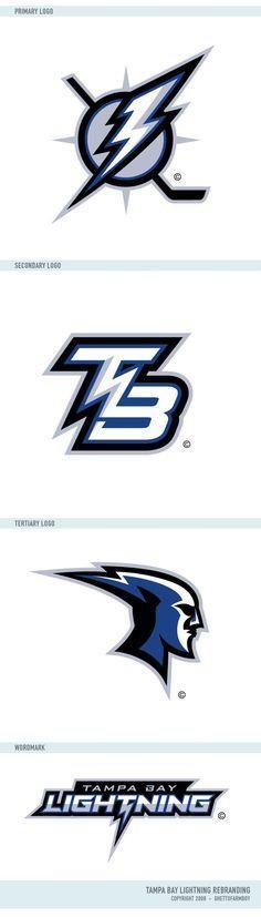 Tampa bay Lightning Rebranding by matthiason on DeviantArt #hockeynhlteamsdecals
