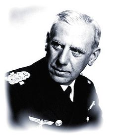 Admiral Wilhelm Canaris. Not only was Canaris an Admiral and head of the Abwehr - military intelligence - he was a dedicated secret opponent of Nazi ideals & of Hitler and other top leaders of the party. He maintained ties with German & Allied resistance groups, protecting them and encouraging their efforts to bring about Hitler's downfall. Near the end of the war, he was betrayed & executed by hanging at the Concentration Camp at Flossenburg.