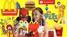McDonalds The Secret Lives of Pets Collection Happy Meal Junk Food Revie.
