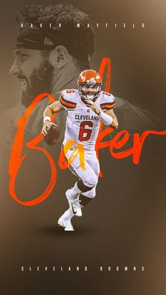 Cleveland Browns History, Cleveland Browns Football, Ou Football, American Football, Baker Mayfield Nfl, Sports Posters, Football Conference, Sports Pictures, National Football League