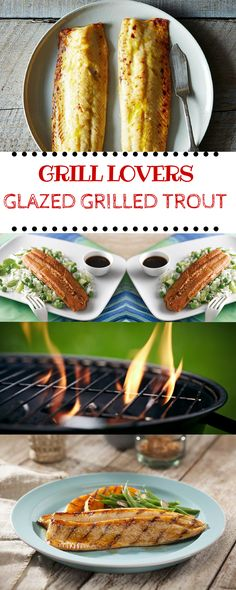 PrintGrill Lovers' Glazed Grilled Trout Recipe (Servings: 6) Ingredients• 6 trout (8 to 10 oz. each) dressed • 1/2 c teriyaki baste & glaze (kikkoman) • 4 t fresh lime juice • 1 T finely dill weed -Chopped (fresh) • 1 non-stick cooking spray • 3 limes,cut into wedges InstructionsScore both sides of trout with[...]