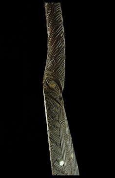 New guinea tribal art gallery specializes in the tribal Art from New Guinea and the Pacific Islands. Polynesian People, Polynesian Culture, Maori Tribe, New Zealand Art, Maori Art, Archaeological Finds, Bone Carving, Ocean Art, Tribal Art