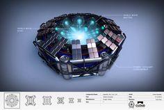 ArtStation - Dragon Stellar Shield Generator, Omar Aweidah