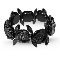 CARVEN Bracelet (4.655 RUB) ❤ liked on Polyvore featuring jewelry, bracelets, accessories, jewels, flower jewellery, metal jewelry, metal bangles, metal flower jewelry and flower jewelry