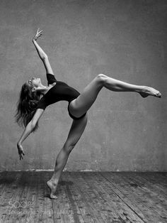High stepping dancer