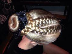 Terrific Gymnastics Hairstyles Gymnastics And Gymnastics Hair On Pinterest Short Hairstyles Gunalazisus