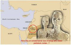 Whom do these most remarkable statues depict? They are in many ways anonymous - lack of human arms and typical indications of gender. Was it an unknown extraterrestrial race of beings who visited prehistoric Jordan, a place at the crossroads of the oldest human cultures?  Read more: http://www.messagetoeagle.com/jordanfaces.php#ixzz2zfmM4Q8s