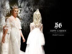 Hippy Garden Bridal Couture  Full Runway Gallery: http://hippygarden.net/hippy-garden-bridal-couture-2014/?lang=hr  Showroom Masarykova 5 www.hippygarden.com  #fashion #brand #design #hippygarden #croatia #masarykova5 #bridalcouture #runway #gallery