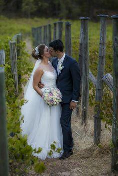 Wedding photography dress bride groom vineyard Darlington estate married love rustic brides my design allure gown