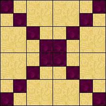 Block of Day for May 08, 2014 - Four Patch Checkers