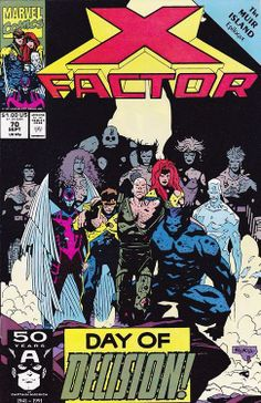 X-Factor #70 by Mike Mignola *