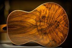 Brazilian rosewood. Such depth to that figure! DeVine Guitars